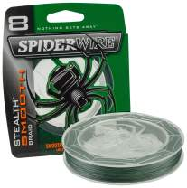 SpiderWire Stealth Smooth 8 Moss Green 0,06 mm 300 m, geflochtene Angelschnur