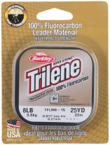 BERKLEY Trilene Fluorocarbon Leader 0,35mm 25m Clear