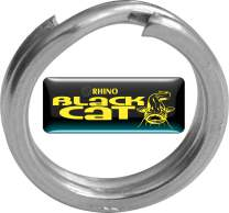 BLACK CAT Xtreme Split Ring  8mm 10st