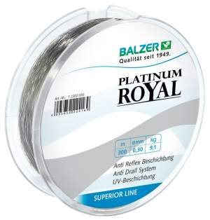 Balzer Platinum Royal 0,25mm 300m