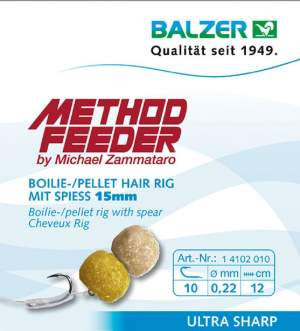 BALZER Method Feeder Rig 10 mit Speer