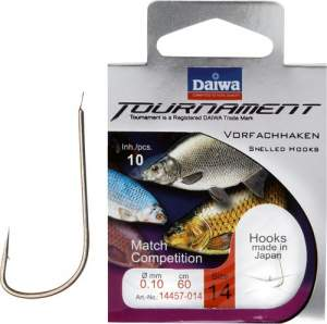 Daiwa Tournament Matchhaken silber Gr.16 40cm 0.10mm SB10