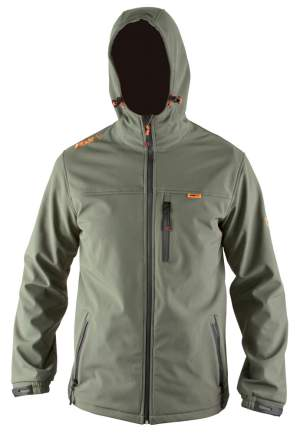 FOX Hooded Green Soft Shell S