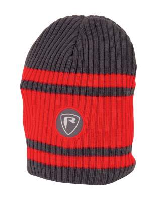 Fox Rage Red / Grey Beanie