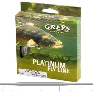 Greys Flyline Floating Heron Gy Wf3