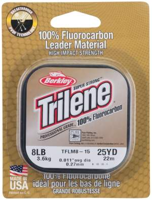 BERKLEY Trilene Fluorocarbon Leader 0,22mm 25m Clear