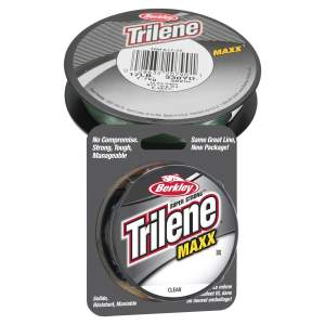 BERKLEY Trilene Maxx 0.1890 mm 300 m Clear, monofile Angelschnur, mono line
