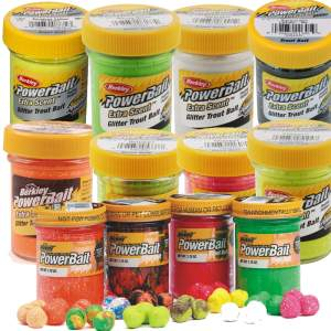BERKLEY Powerbait Troutbait Select Glitter 50 g
