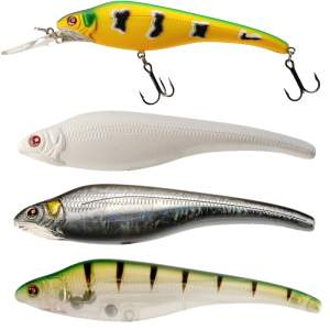 SÉBILE Acast Minnow Medium Lip Suspending