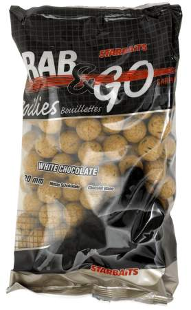 STARBAITS Grab & Go White Chocolate 20mm 1Kg