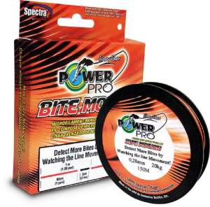 Shimano Power Pro Bite Motion, geflochtene Angelschnur, braided line