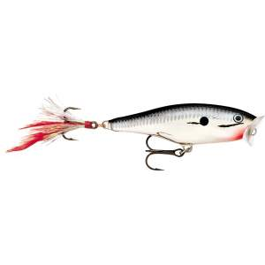 RAPALA Skitter Pop 9cm Chrome