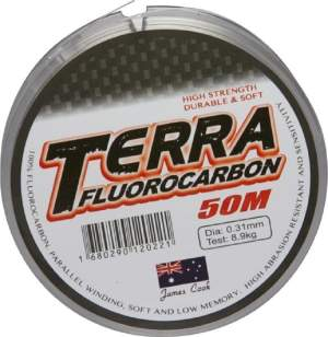 James Cook Terra fluorocarbon 0,20mm 4,9kg 50m