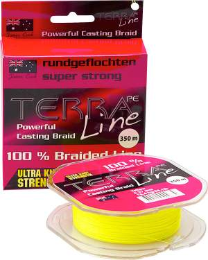 James Cook Terra PE Line 0,30mm 200m yellow 18,2kg