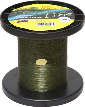 James Cook Terra Line 0,50mm 2000m dark-green 50kg