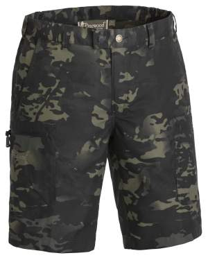 PINEWOOD Caribou Camou TC Shorts Black Jungle/Black