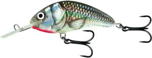 SALMO Hornet 9cm Holographic Grey Shiner Floating