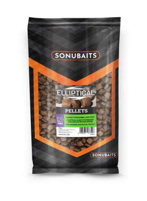 SONUBAITS Elliptical Pellets 10mm 1kg