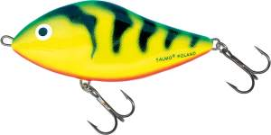 SALMO Slider 10cm Green Tiger Sinking
