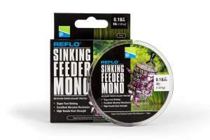 PRESTON 0.23mm Reflo Sinking Feeder Mono - 150M Spool - 6Lb, monofile Angelschnur