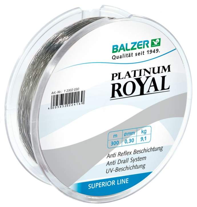Balzer Platinum Royal 0,28mm 300m