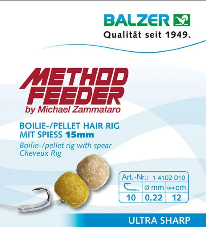 BALZER Method Feeder Rig mit Speer