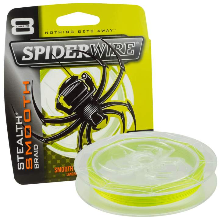 SpiderWire Stealth Smooth 8 Yellow 0,06 mm 300 m