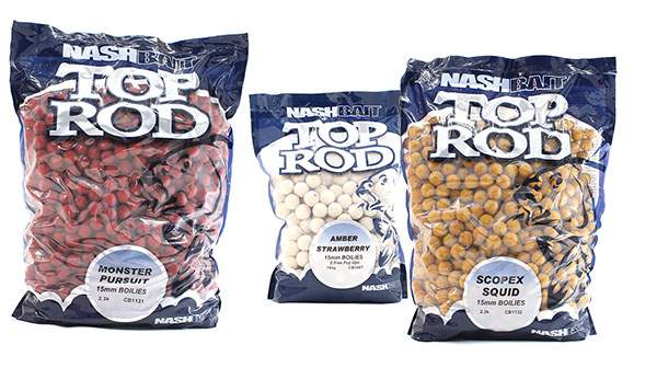 NASH TOP ROD BOILIES