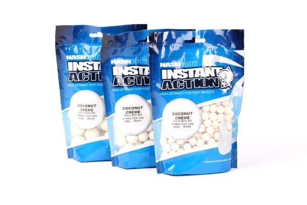 Nash Instant Action Bottom Bait 200 g  Plus 5 Free Pop Ups