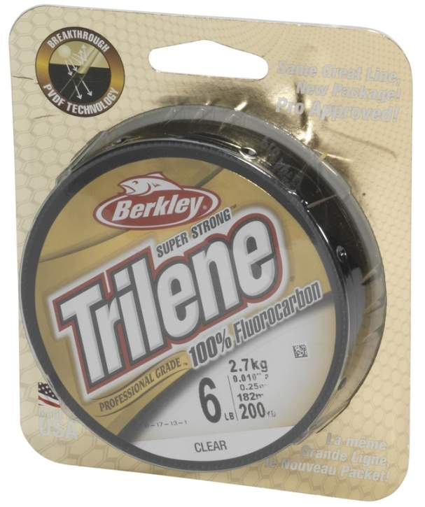 BERKLEY Trilene Fluorocarbon 0.20mm 150m Clear