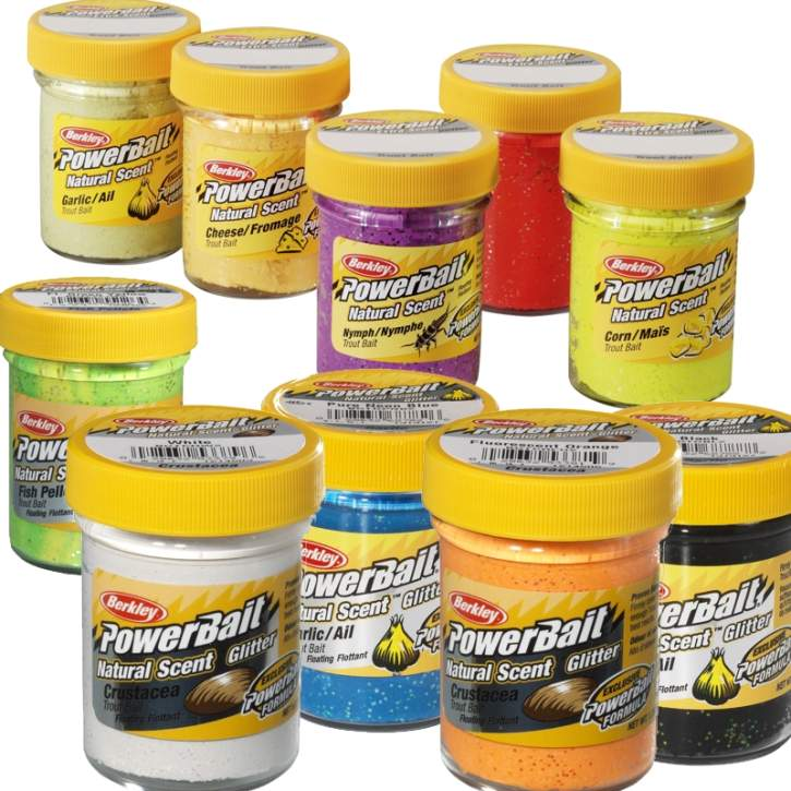 BERKLEY Powerbait Troutbait Natural Scent Garlic 50g