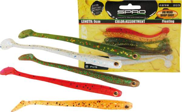 SPRO Snake Paddle Assortment