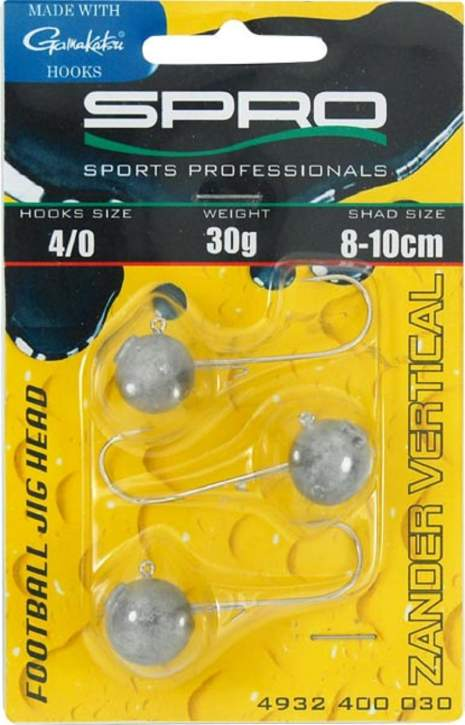 SPRO Zander Vertical Football Jig Head