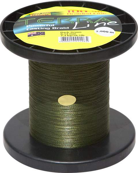 James Cook Terra Line 0,36mm 2000m dark-green 28,6kg