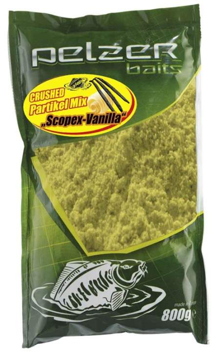PELZER Crushed Partikel Mix Scopex/Vanille 800g