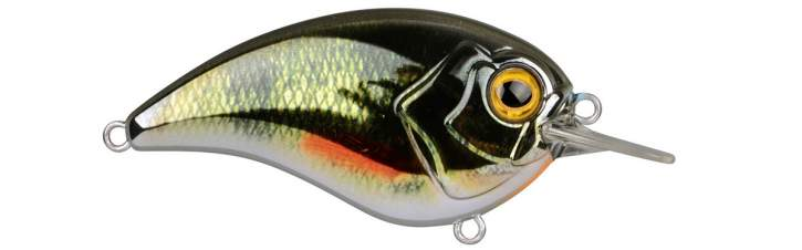 SPRO Ikiru Flat Crank 55 Chro Green Perch
