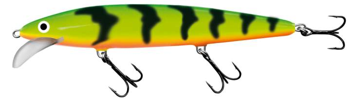 SALMO Whacky 9cm Green Tiger Floating